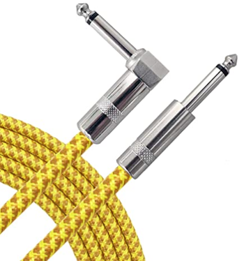 What-Is-The-Best-Guitar-Cable-Yellow-Braided