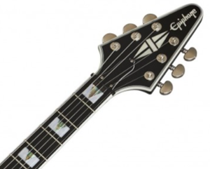 Epiphone-Flying-V-Prophecy-Review-Headstock
